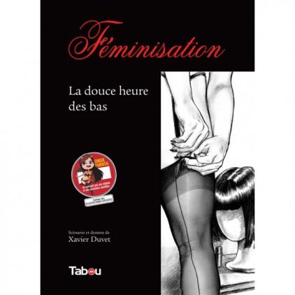 Féminisation_La_douce_heure_de_bas_bande_dessinée_érotique