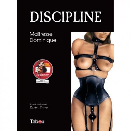 Discipline_maitresse_Dominique_Tome_1_bande_dessinée_érotique