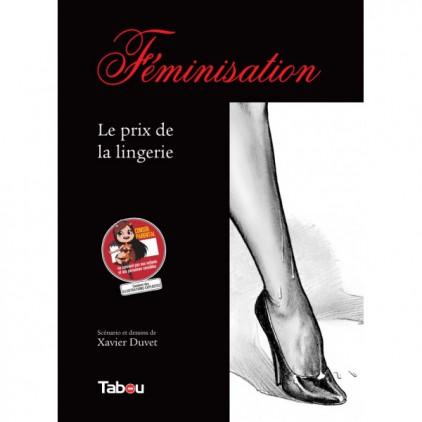 Féminisation_Le_prix_de_la_lingerie_tome_1_bande_dessinée_érotique