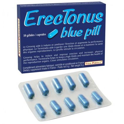Stimulant sexuel Erectonus Blue Pill