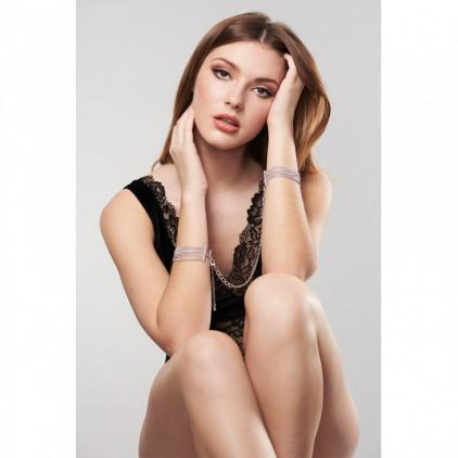 """Menottes et Bracelets couleur argent """"Magnifique"""" - Bijoux Indiscrets"""