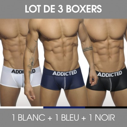 Lot de 3 boxers homme - Addicted