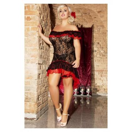 Flamenco_nuisette_grande_taille_dentelle_Andalea