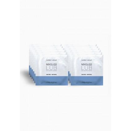 Lubrifiant Mixgliss Natural - 12 sachets de 4ml