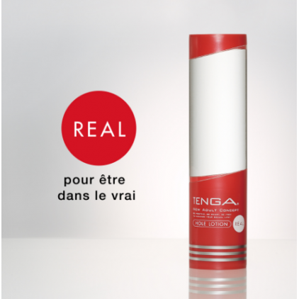 Lubrifiant Hole Lotion REAL de Tenga