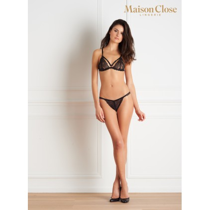 String tanga ouvrable  - Le Petit Secret - Maison Close