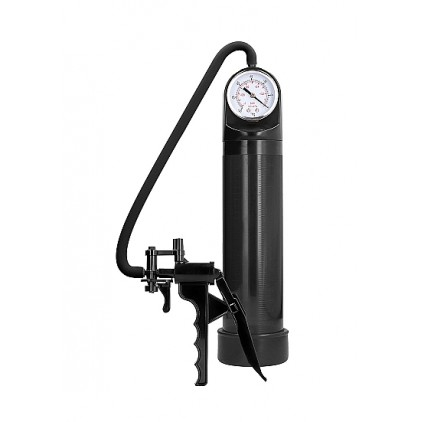 Pompe_à_pénis_Elite_Pump_with_Advanced_PSI_Gauge_Pumped_Noir