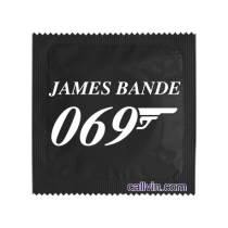 James bande 069 - Préservatif humoristique