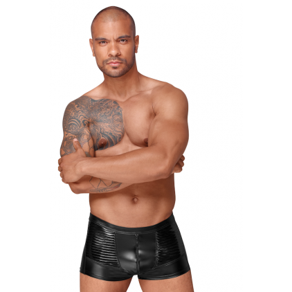 Short_Homme_wetlook_decadence_de_noir_handmade