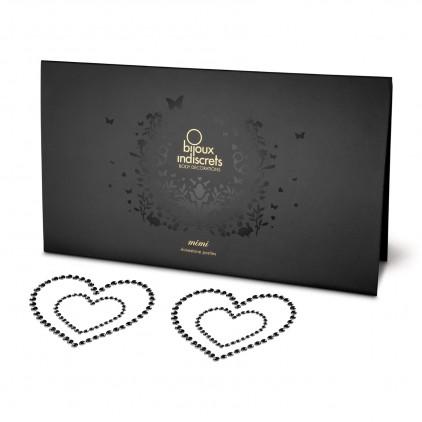 Bijoux de seins Mimi Heart argent