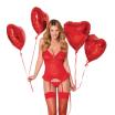 Guêpière sexy rouge 863 - Obsessive