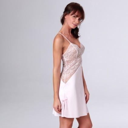 Nuisette_satinée_et_dentelle_Select_de_valeg_lingerie