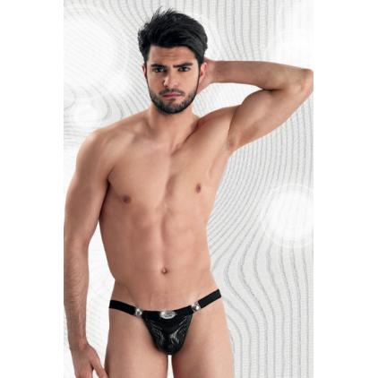 String homme détachable effet cuir - Eros Veneziani