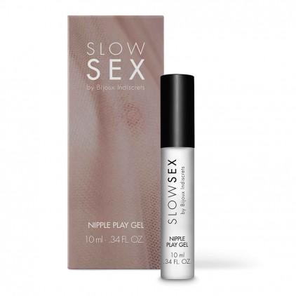 Gel stimulant pour tétons Slow Sex - Bijoux Indiscrets