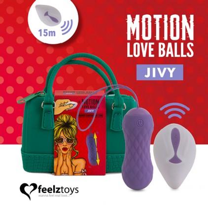Boules de Geisha télécommandées - Motion Love Balls Jivy