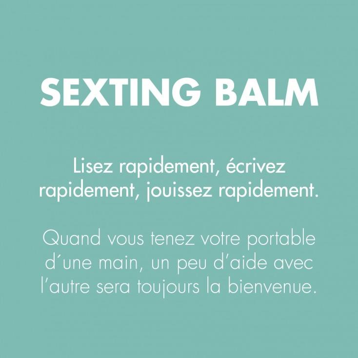 Baume Orgasmique Clithérapie Sexting Balm – Bijoux Indiscrets
