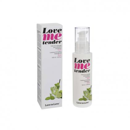 Love me Tender - Huile de massage gourmande et chauffante