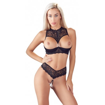 Ensemble Soutien_gorge_et_String_Nus_Cottelli_Collection