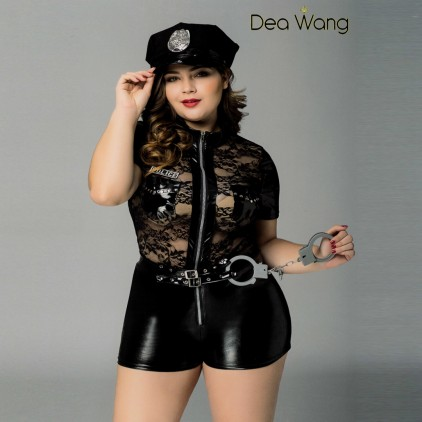 Déguisement Sexy de Policière - 3 Pièces