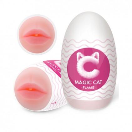 Masturbateur_Masculin_Réaliste_Bouche_Pulpeuse_Flame_Magic_Cat