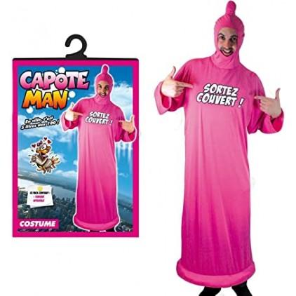 Costume Préservatif Géant 'Sortez Couvert'