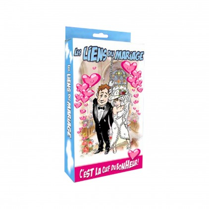 Kit Paire de Menottes 'Liens du Mariage'