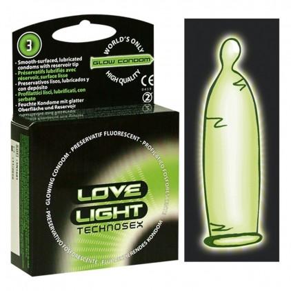 Préservatifs Love Light Technosex