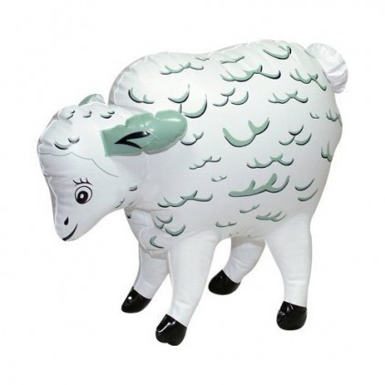 Pull the Wool - Mouton gonflable sonore