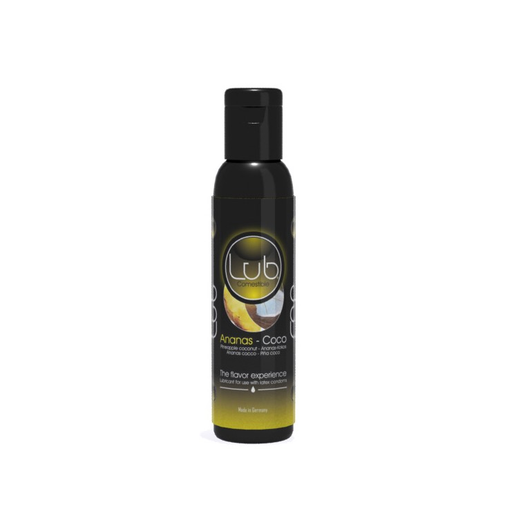 Lub Comestible Ananas-Coco 150 ml