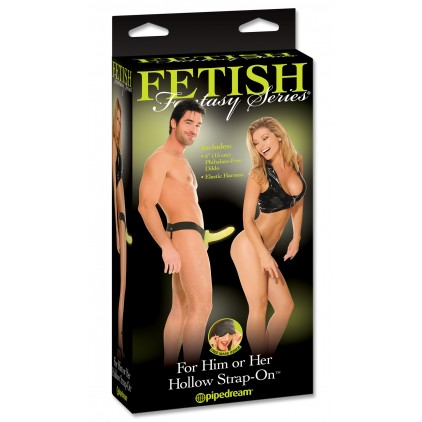 FFS For Him or Her Hollow Strap-On Glow In The Dark