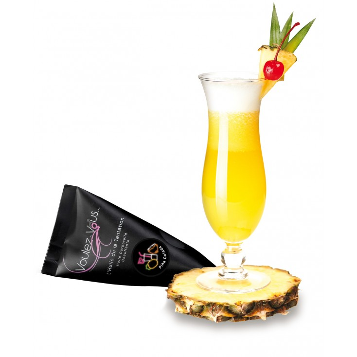 L'Huile de la Tentation, huile corporelle gourmande - Berlingot 15 ml