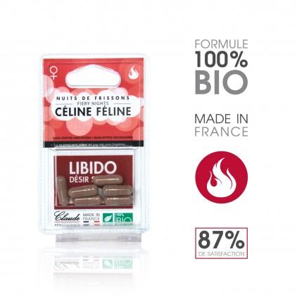 Céline Féline - Sublimateur de Libido - Blister 6 gél.